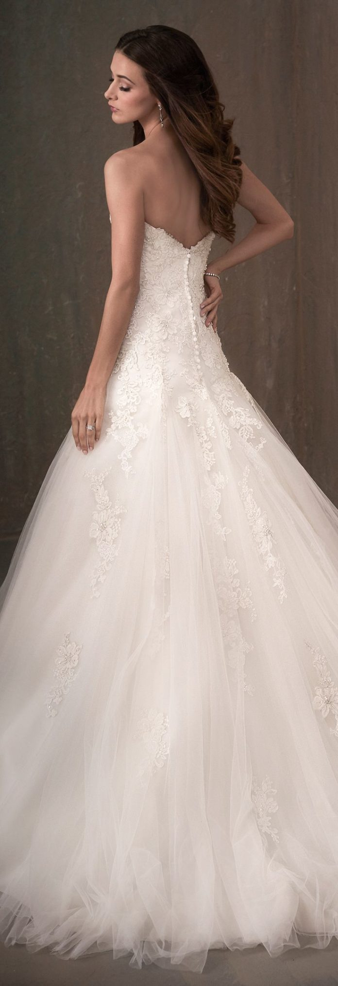 wedding dresses a line princess wedding dress by