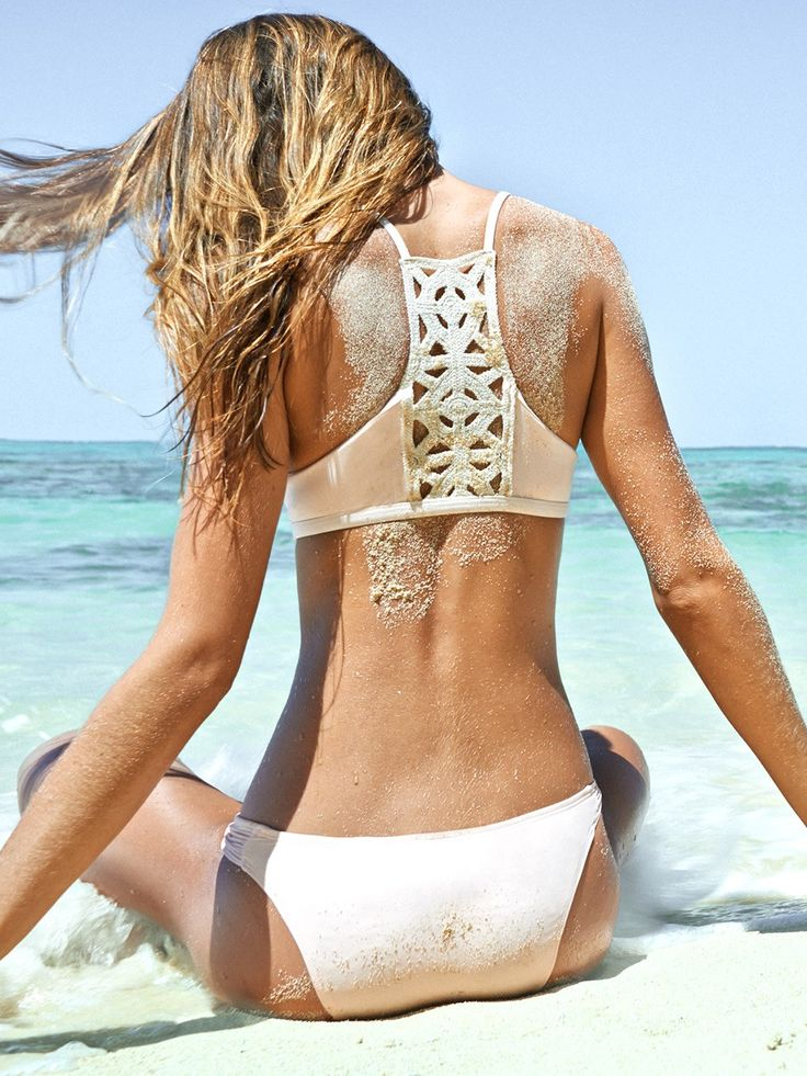 Women's Swimwear : L Space: Nanette Bralette-Monique ...