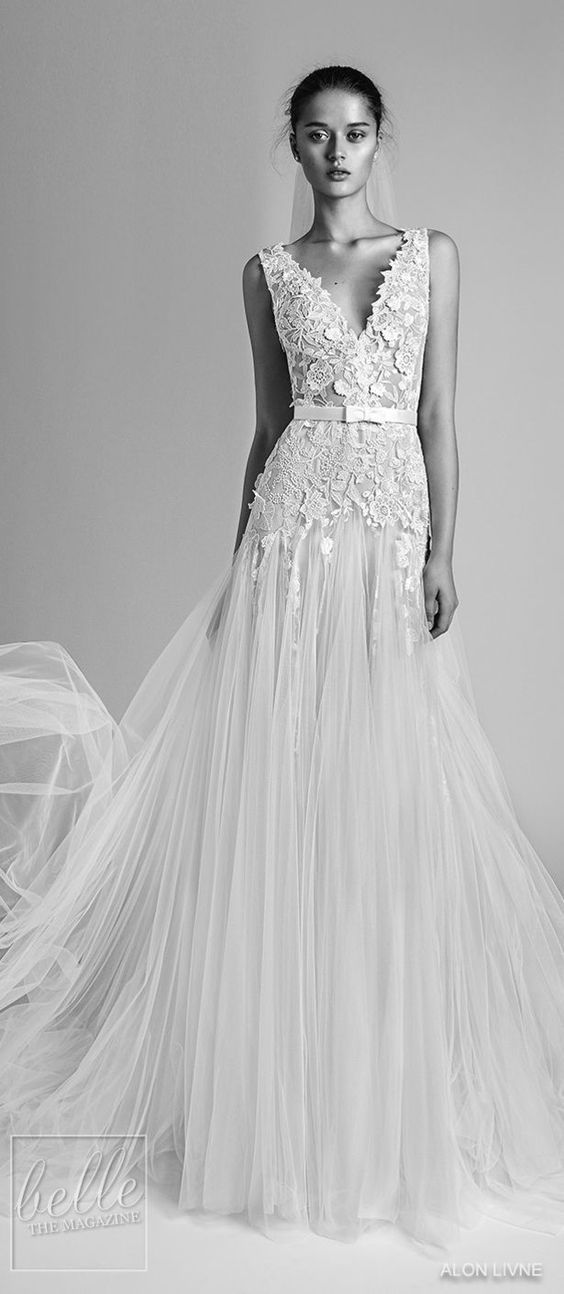 Wedding Dresses : LIVNÉ WHITE 2018 COLLECTION - \'GABRIELLE\' WEDDING ...